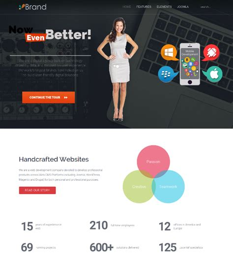 Wt Brand Documentation • Free Responsive Joomla Templates