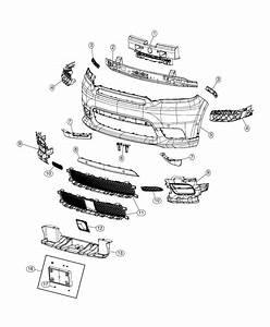 Dodge Durango Retainer   Front End Parts Module    Body