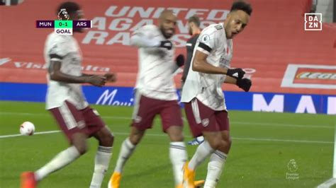 Manchester United Arsenal Aubameyang Heaps More Misery On Manchester United Premier League