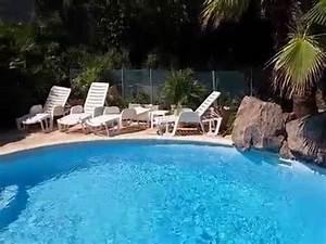Piscine Avec Cascade : maison avec piscine et cascade dans un crin de verdure ~ Premium-room.com Idées de Décoration