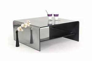 Table Basse Miroir : table basse en verre miroir argent e montr al design pas ~ Melissatoandfro.com Idées de Décoration