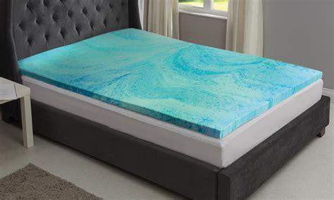 cool gel memory foam mattress starry cool gel memory foam mattress topper from 34