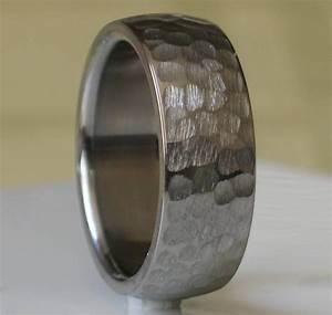 15 Inspirations Of Hammered Tungsten Men39s Wedding Bands