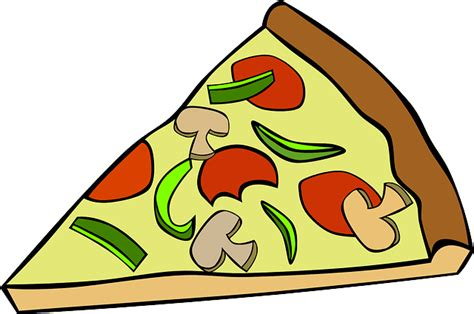 Pizza Slice Food · Free Vector Graphic On Pixabay