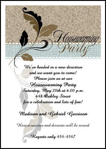 Housewarming Quotes For Invitation Cards