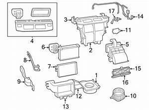 Volkswagen Routan Hvac System Wiring Harness  Front  W