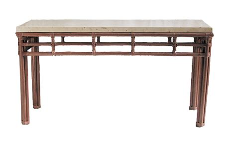 fong brothers co fb 1964 console table