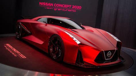 nissan displays  updated concept  vision gran