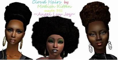 Sims Hair Puff Cloud Urbania Afro Conversion