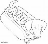 coloring pages of hotdog hot dog coloring page hot dog coloring page