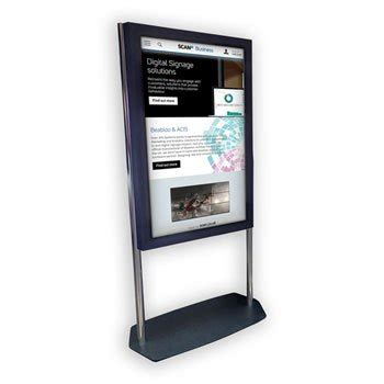We develop interactive digital billboards for malls and shopping centers. Unicol Freestanding Kiosk for Samsung PM49H LN92985 ...