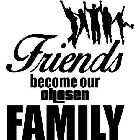 Sticker Friends Become Our Chosen Family