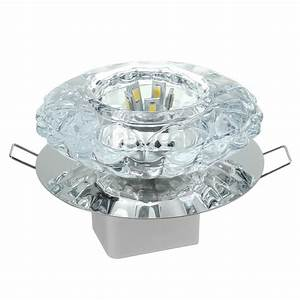 Modern w crystal ceiling light fixture flush mounted