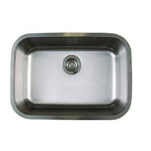 ferguson stainless steel kitchen sinks b441025 stellar stainless steel undermount single bowl