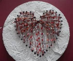 Herz Aus Zweigen Basteln : herz zum valentinstag aus nagel und faden basteln rund ums jahr ~ Markanthonyermac.com Haus und Dekorationen