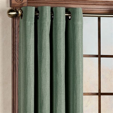 canvas blackout grommet curtain panels