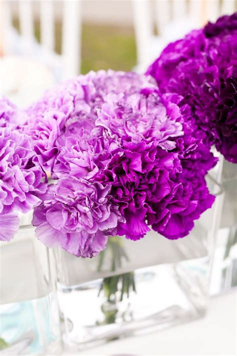 totally breath  ways   ombre wedding flowers