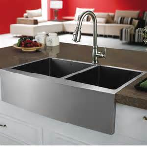 vigo 33 quot x 22 25 quot bowl farmhouse kitchen sink reviews wayfair