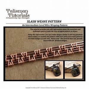 Tutorial  Wire Weaving Pattern  Slash Weave Design  Wire