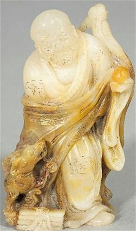Soapstone Value by Carving Soapstone Immortal Figure T Ien Huang