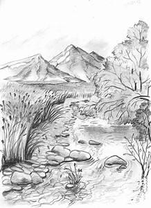 Figure, Mountains, Pencil, U00b7, Free, Photo, On, Pixabay
