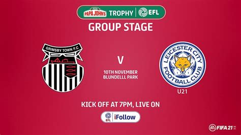 Match Report: Grimsby Town 1-3 Leicester City U21 - News ...