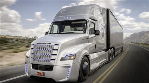 Freightliner Inspiration The Selfdriving Semi Truck Is Real