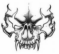 Evil Skulls Tattoo Des...