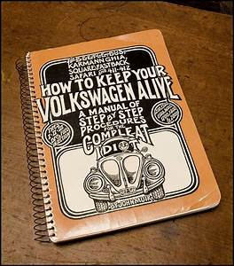 Vintage Hippie Volkswagen Repair Manual