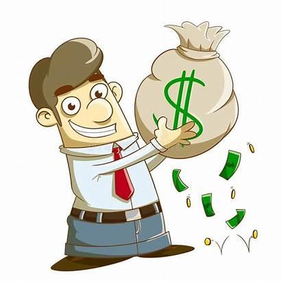 Money Earn Clipart Illustration Lot Lots Someone