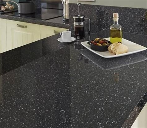 perfect idea  kitchen  star galaxy granite