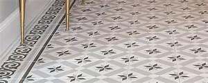Tapis Carreaux De Ciment Saint Maclou : vinyl imitation carreaux ciment saint maclou solnyle carreau bleu tapis vinyl imitation carreaux ~ Nature-et-papiers.com Idées de Décoration