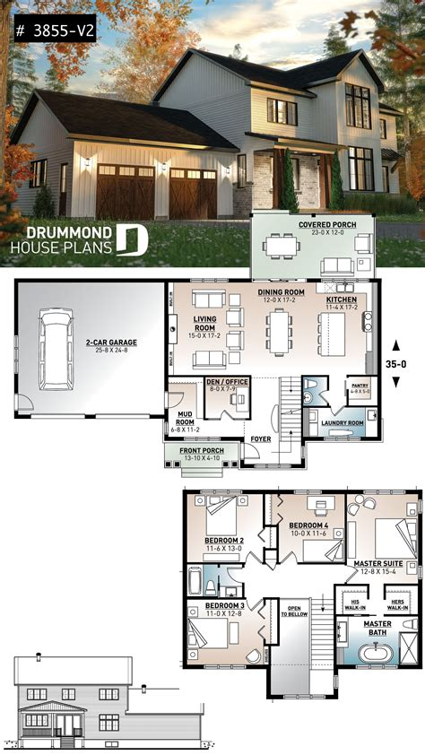 house plan Nikolas 3 No 3855 V2 (With images) Sims
