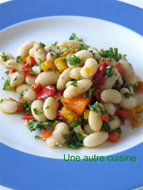 cuisine haricot blanc haricots blancs frais mojettes en salade une autre cuisine