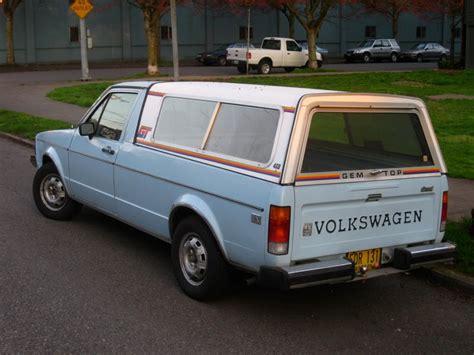 volkswagen diesel rabbit cars of a lifetime 1984 vw diesel pickup old rabbit