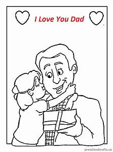 Father U0026 39 S Day Coloring Pages For Kids