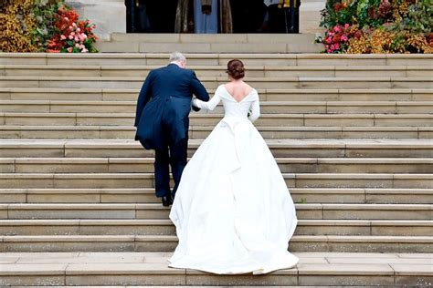 Princess Eugenie S Striking Second Wedding Dress Revealed