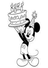Mickey Mouse para colorear【2020】Dibujos de mickey para