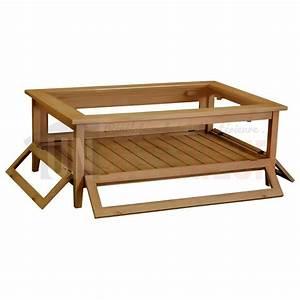 Table En Pin Massif : table basse collectionneur rectangulaire en pin massif ~ Teatrodelosmanantiales.com Idées de Décoration