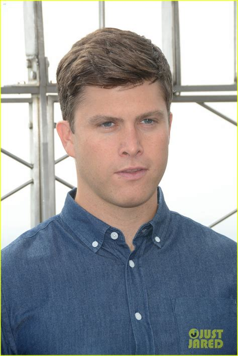 colin jost lights  empire state building  nyc photo