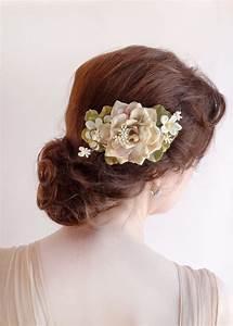Rustic Wedding Hair Accessories Flowers Blush Wedding
