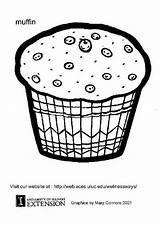 Muffin Colorare Colorear Malvorlage Dibujo Disegno Coloriage Kleurplaat Disegni Gratis Zum Coloring Dibujos Grosse Herunterladen Abbildung Ausmalbild Ausmalbilder Schulbilder Scarica sketch template