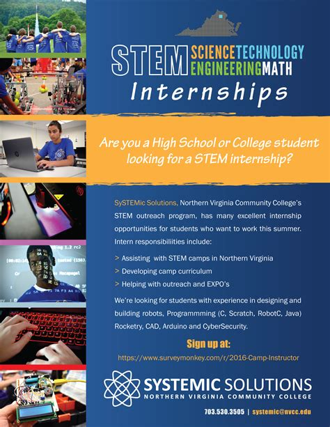 Looking For A Stem Internship This Summer?  Nova Systemic
