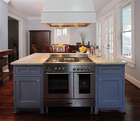 kitchen island with oven installing a range in the middle of an island