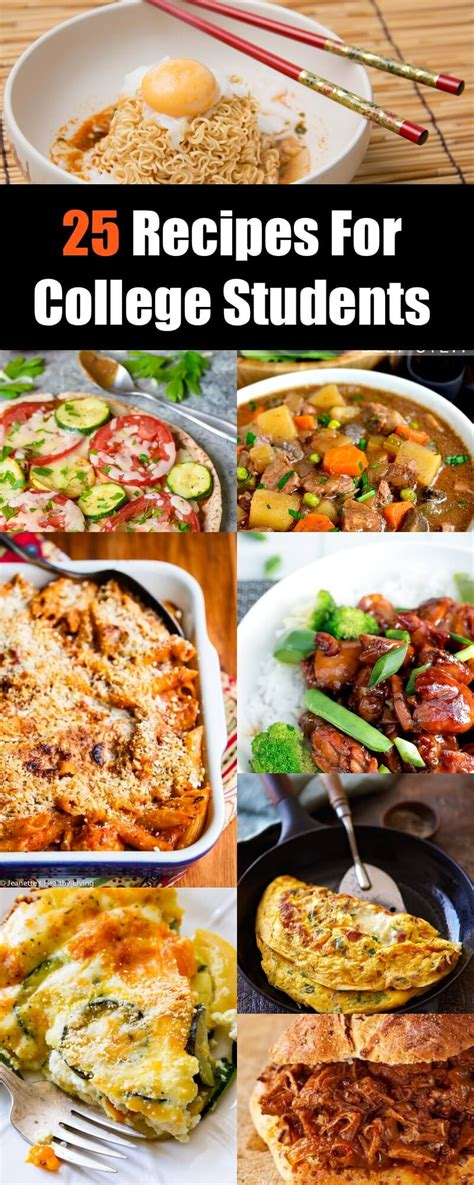 Cheap Healthy Recipes For College Students  Besto Blog