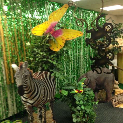 Vbs Jungle Theme Decorations   Vbs 2015 Pinterest