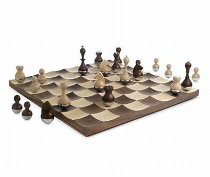 Chess Sets Wobble Pieces Board Designs Creative