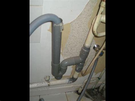 comment nettoyer le tuyau de vidange du lave linge debordement de vidange du lave linge