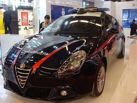 I Carabinieri Scelgono Una Giulietta Per Partecipare Ad