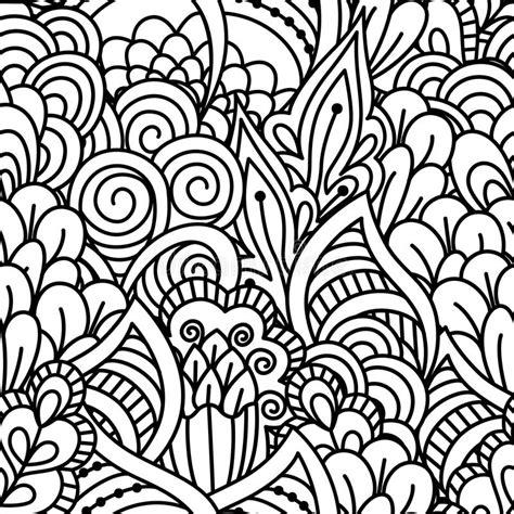 naadloze zwart witte achtergrond vector illustratie illustratie bestaande uit plantkunde